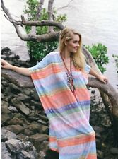 NEW RUBY YAYA Indalia Temple Maxi Kaftan Dress - M L - One 4 Summer Beach Season