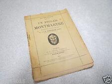 UN ANGLAIS A MONTMARTRE LUCIEN PUECH monologue coquelin cadet 1898 STOCK *