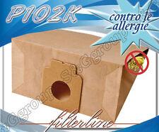 P102K 8 sacchetti filtro carta x Panasonic MCE dal modello 8000 al 8999