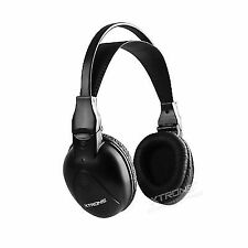 Headphones Folding Infrared 2 Channels XTRONS Radios Screens Ceiling
