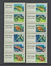 LAKES ERRORS 2nd on 1st CLASS COMPLETE SET of 12 NCR POST & GO