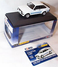 VANGUARDS FORD ESCORT MK2 RS1800 DIAMOND WHITE (FOREST ARCHES) VA12609 ltd ed