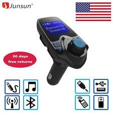 Car Kit Bluetooth MP3 Player FM Transmitter Handsfree  USB Charging AUX Slot
