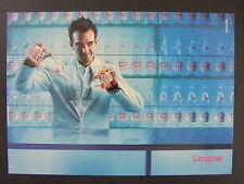 Evian Bottled Water Bartender Color Promotional Promo Advertising Postcard 1999