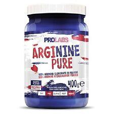 Prolabs  L-Arginine Pure 400 gr Arginina in polvere  stimolante ossido nitrico