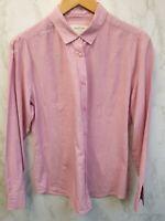 The Savile Row Company Womens Pink Shirt Size 14