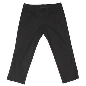"LULULEMON Black Casual Sport Pants Golf Walking Men's size 38 inseam 26"" - 432"