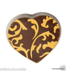 Professnl Polycarbonate Chocolate praline Mould Magnetic (HEART)-Made in Belgium