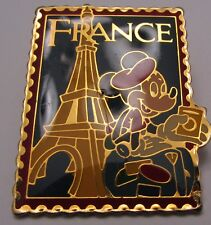 Disney Open Stock Epcot Stamp Series France Mickey Pin
