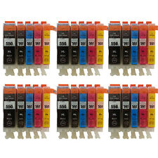30 Ink Cartridges for Canon IP7250 IP8750 IX6850 MG5450 MG5550 MG5650 T