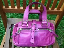 Mulberry Mini Mabel Bag Fuschia pink leather authentic genuine