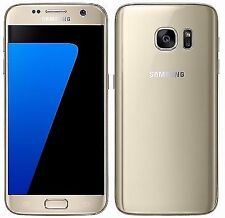 Samsung Galaxy S7 Duos SM-G930FD 12MP Factory Unlocked 32GB Gold Phone