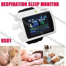 2014 RS01 Wrist watch Sleep apnea screen meter,Respiration Sleep Monitor, PC SW