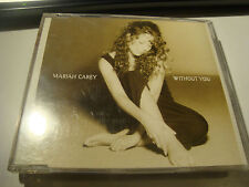 RAR MAXI CD. MARIAH CAREY. WITHOUT YOU. 3 TRACKS.