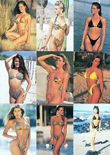 SWIMWEAR ILLUSTRATED 1994 COMIC IMAGES COMPLETE BASE CARD SET OF 90 AD
