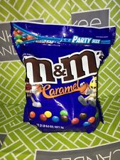 M&MS Caramel Party HUGE Size 38oz 1077.3kg Resealable bag USA EXCLUSIVE *WOW*