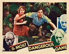 The Most Dangerous Game 11 X 14 Lobby Card  LC Joel McCrea Fay Wray