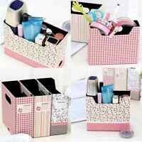 Hot Sale And Cute Makeup Cosmetic Stationery Paper Board Storage Collection Box