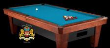 7' Simonis 860 Tournament Blue Pool Table Cloth Felt w/ Free Matching Chalk!