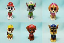 TY Mini Boos Serie Paw Patrol alle 6 Sammelfiguren  komplett 5 cm Glubschis