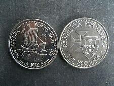 Portogallo 100 escudos 1989 Portuguesa-Porto Santo Madera/nave Ave Maria