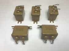 4.0 uF 160 V Paper Capacitors MBGO-2. Set of 5. New