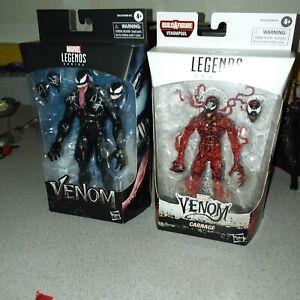 "Marvel Legends VENOM ""VENOM(MOVIE FIGURE)+CARNAGE"" BRAND NEW"