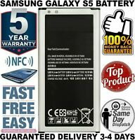 OEM Original Samsung S5 Galaxy S5 Active Phone Battery EB-BG900BBU 2800mAh 3.85V