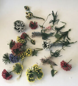 Selection Of Dolls House Flowers