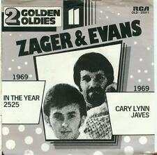 """ZAGER & EVANS """"IN THE YEAR 2525 / CARY LYNN JAVES""""  JUKEBOX OLDIE 7""""/45"""