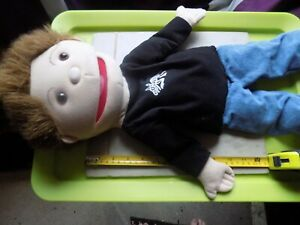 vintage Large arm boy puppet , The Puppet company
