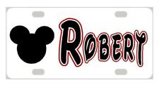 MICKEY MOUSE MINI LICENSE PLATE Any Name Personalized Kids Bicycles Wagons