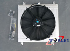 Aluminum Radiator shroud + fan HOLDEN COMMODORE VB VC VH VK V8 1979-1986