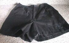 LOTTO~Black TENNIS ITALIANO SHORTS~Women's Large~NWOT~Elastic Waist
