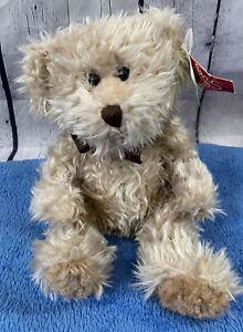"Vintage 12"" Russ Berrie RADCLIFFE Teddy Bear Tan Plush Stuffed Animal 3283"