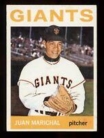 1964 Topps Baseball #280 Juan Marichal San Francisco Giants - SBID004