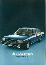 Catalogue Audi 100 1977 26 pages katalog automobile