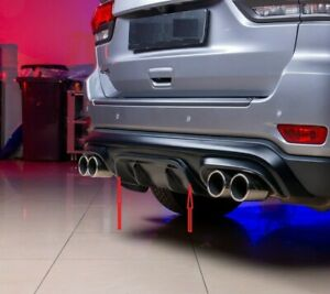 Fit For Jeep Cherokee 2013+ WK2 Restyling Diffuser Rear Bumper
