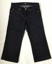 7 For All Mankind DOJO Size 24 Women's Denim Cropped Capri