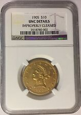 1905 Gold $10 Liberty Eagle Coin NGC
