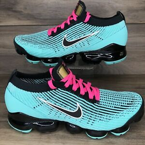 Nike Air Vapormax Flyknit 3 'South Beach' Miami Vice AJ6900-323 Mens 11 DS Shoes