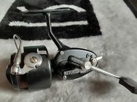 "VINTAGE MITCHELL 300 MANUAL-BAIL FISHING REEL and spare spool ""LOVELY"" CONDITION"