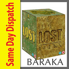 "LOST - THE COMPLETE SEASONS 1,2,3,4,5, 6 DVD BOX SET NEW R4 ""Clearance"""