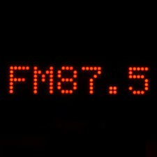 "0.7"" 8 digit 5X7 Red Dot Matrix Unit Board With Demo Board"