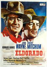 El Dorado  John Wayne Robert Mitchum movie poster print #9