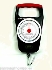 Lineaeffe Small Dial Face Hanging Fishing Scales  50lb & Tape Measure