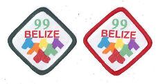1999 World Scout Jamboree BELIZE SCOUTS Contingent Scarf Patch