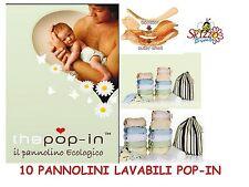 PANNOLINI LAVABILI POP-IN 10PZ ORIGINALI