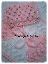 Knitting Pattern #23 (INSTRUCTIONS) Baby Pram Cover