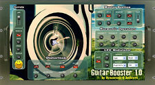 GUITARBOOSTER VST 1.3 :plugin for PC that adds bass harmonics to make sound phat